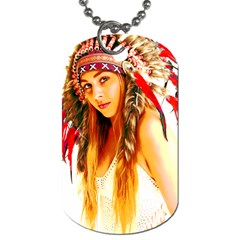 Indian 26 Dog Tag (two Sides) by indianwarrior