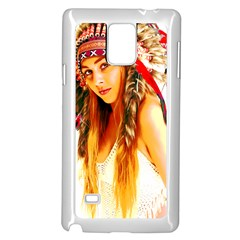 Indian 26 Samsung Galaxy Note 4 Case (white) by indianwarrior