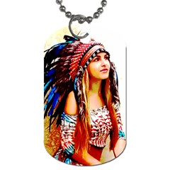 Indian 22 Dog Tag (two Sides) by indianwarrior