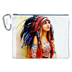 Indian 22 Canvas Cosmetic Bag (xxl)  by indianwarrior