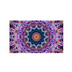 Purple Lotus Satin Wrap by Zandiepants