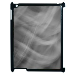 Gray Fog Apple Ipad 2 Case (black) by timelessartoncanvas