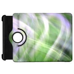 Green And Purple Fog Kindle Fire Hd Flip 360 Case by timelessartoncanvas