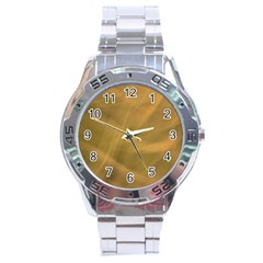 Brown Fog Stainless Steel Analogue Watch by timelessartoncanvas