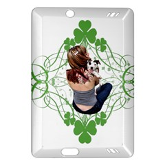 Pit Bull T Bone Lucky Puppy Kindle Fire Hd (2013) Hardshell Case by ButThePitBull