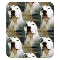 Pit Bull T Bone 2015/05/25 Double Sided Flano Blanket (small)  by ButThePitBull