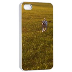 Pit Bull T Bone Apple Iphone 4/4s Seamless Case (white) by ButThePitBull