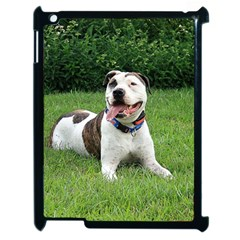 Pit Bull T Bone Apple Ipad 2 Case (black) by ButThePitBull