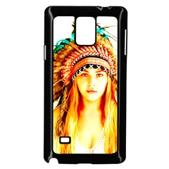 Indian 29 Samsung Galaxy Note 4 Case (black) by indianwarrior