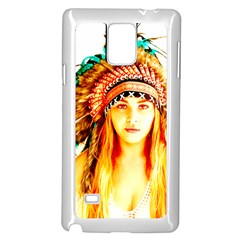 Indian 29 Samsung Galaxy Note 4 Case (White) by indianwarrior