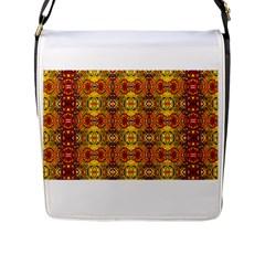 Roof555 Flap Messenger Bag (l)  by MRTACPANS