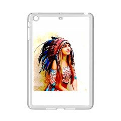 Indian 22 Ipad Mini 2 Enamel Coated Cases by indianwarrior