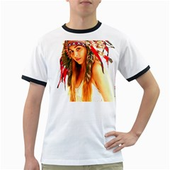 Indian 25 Ringer T-Shirts by indianwarrior