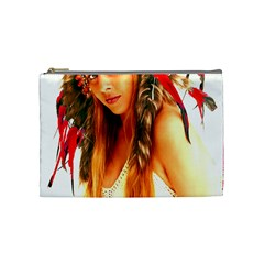 Indian 25 Cosmetic Bag (Medium)  by indianwarrior