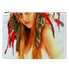 Indian 25 Cosmetic Bag (XXL)  by indianwarrior