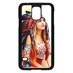 Indian 21 Samsung Galaxy S5 Case (black) by indianwarrior