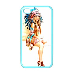 Indian 18 Apple Iphone 4 Case (color) by indianwarrior