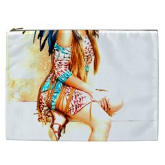 Indian 18 Cosmetic Bag (XXL)  by indianwarrior