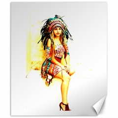 Indian 16 Canvas 20  X 24   by indianwarrior