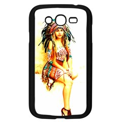 Indian 16 Samsung Galaxy Grand Duos I9082 Case (black) by indianwarrior