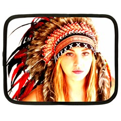 Indian 3 Netbook Case (Large) by indianwarrior