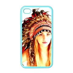 Indian 3 Apple Iphone 4 Case (color) by indianwarrior