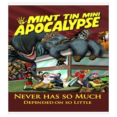Sac Mint Tin Mini Apocalypse By Dehongher   Drawstring Pouch (large)   Etasc1waoytm   Www Artscow Com Front