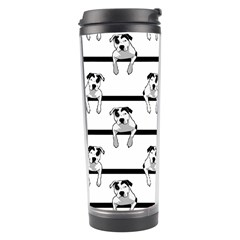 Pit Bull T Bone Graphic  Travel Tumblers by ButThePitBull