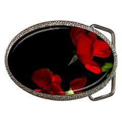 Roses 1 Belt Buckles by timelessartoncanvas