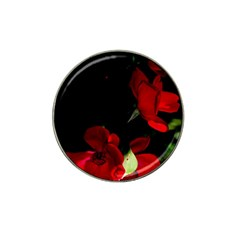 Roses 1 Hat Clip Ball Marker by timelessartoncanvas