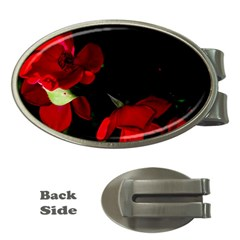Roses 2 Money Clips (oval)  by timelessartoncanvas