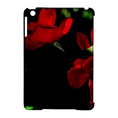 Roses 3 Apple Ipad Mini Hardshell Case (compatible With Smart Cover) by timelessartoncanvas