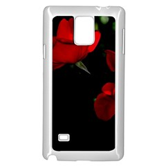 Roses 3 Samsung Galaxy Note 4 Case (white) by timelessartoncanvas