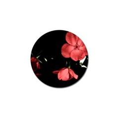 Mauve Roses 1 Golf Ball Marker (10 Pack) by timelessartoncanvas