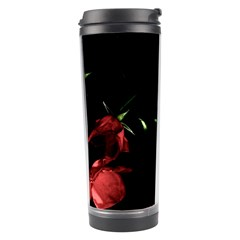Mauve Roses 1 Travel Tumblers by timelessartoncanvas