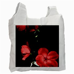 Mauve Roses 3 Recycle Bag (two Side)  by timelessartoncanvas