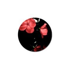 Mauve Roses 4 Golf Ball Marker (4 Pack) by timelessartoncanvas