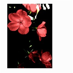 Mauve Roses 4 Large Garden Flag (two Sides) by timelessartoncanvas