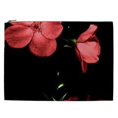 Mauve Roses 4 Cosmetic Bag (xxl)  by timelessartoncanvas