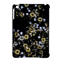 Little White Flowers 2 Apple Ipad Mini Hardshell Case (compatible With Smart Cover) by timelessartoncanvas