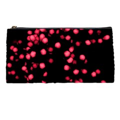 Little Pink Dots Pencil Cases by timelessartoncanvas