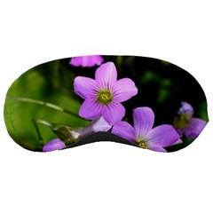 Little Purple Flowers Sleeping Masks by timelessartoncanvas