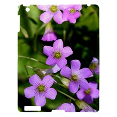 Little Purple Flowers Apple Ipad 3/4 Hardshell Case by timelessartoncanvas