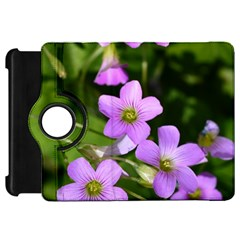 Little Purple Flowers Kindle Fire Hd Flip 360 Case by timelessartoncanvas