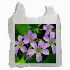 Little Purple Flowers 2 Recycle Bag (one Side) by timelessartoncanvas