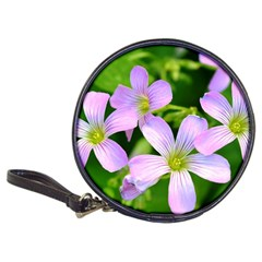 Little Purple Flowers 2 Classic 20 Cd Wallets by timelessartoncanvas