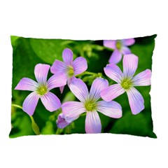 Little Purple Flowers 2 Pillow Case (two Sides) by timelessartoncanvas