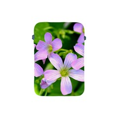 Little Purple Flowers 2 Apple Ipad Mini Protective Soft Cases by timelessartoncanvas