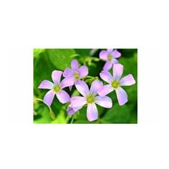 Little Purple Flowers 2 Satin Wrap by timelessartoncanvas