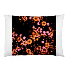 Little Peach And Pink Flowers Pillow Case (two Sides) by timelessartoncanvas